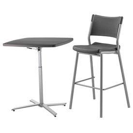 Adjustable Height Lunchroom Tables