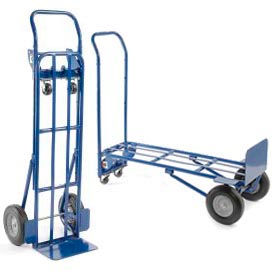 Steel 2-in-1 Convertible Hand Trucks