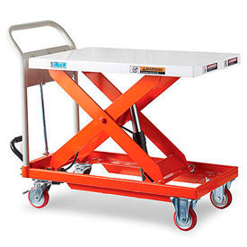 Relius Solutions Hydraulic Mobile Scissor Lift Tables