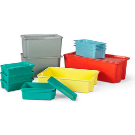 LewisBins Plexton Stack-N-Nest Fiberglass Containers - Promotional Price!