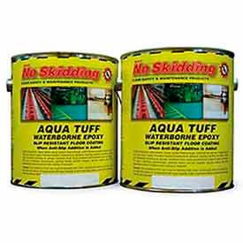 No Skidding Aqua Tuff Waterborne Epoxy Floor Coating