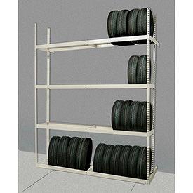 Rivetwell Boltless Tire Storage Shelving