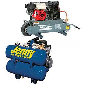 Hand Carry & Wheelbarrow Gas Powered Air Compressors
