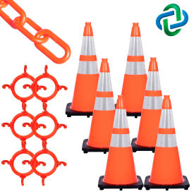 Mr. Chain Traffic Cone & Chain Connector Kits