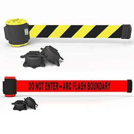 Banner Stakes Wall Mount Retractable Barriers