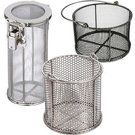 Marlin Steel Heavy Duty Round Mesh Baskets
