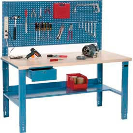 Global Industrial™ Ajustable Height Workbenches avec Pegboard