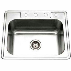 Single Bowl Drop In Kitchen Sinks