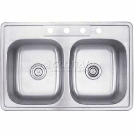 Multi Compartment Drop In Kitchen Sinks