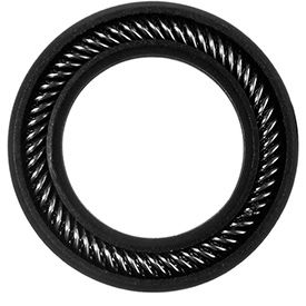 Graphite Filled PTFE Spring Energized Seals for Linear and Rotary Applications