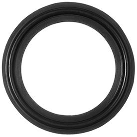 Chemical Resistant FDA Viton Gaskets for Quick-Clamp Tube Fittings