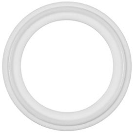 Ultra Chemical Resistant Clean Room Teflon Gaskets for Quick-Clamp Tube Fittings
