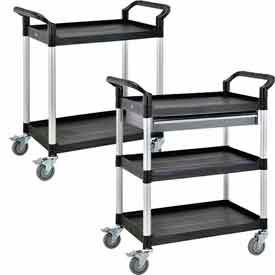 Global Industrial™ High Capacity Utility Carts - Aluminum Uprights