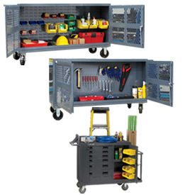 Steel Facility Maintenance Carts