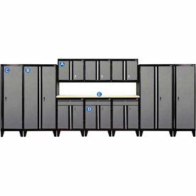 Sandusky Complete Garage Storage Systems
