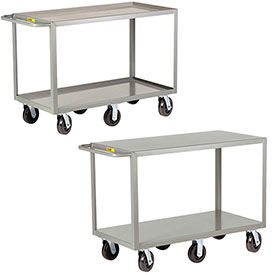 Little Giant® 6-Wheeled Heavy Duty Shelf Truck