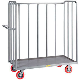 Little Giant® 3 Sided Tubular Frame Steel Deck Bulk Trucks