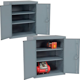 Global™ All-Welded Heavy Duty Counter Height Storage Cabinets