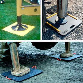 Coussinets de Protection au sol Outrigger/grue