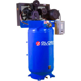 Two-Stage Piston Compressors, Vertical, 1-Phase