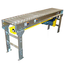 Omni Metalcraft Lineshaft Powered Roller Conveyors