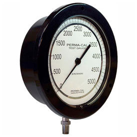 Perma-Cal Industries ABS Plastic Compound Pressure Gauges With Stainless Steel Connections