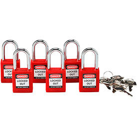 Brady Safety Lockout Padlocks