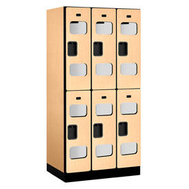 Salsbury See-Through Designer Wood Lockers