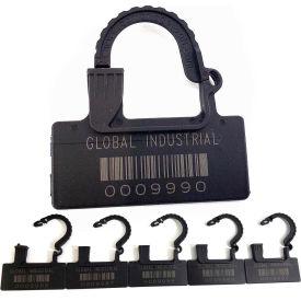 Sceaux des cadenas en plastique