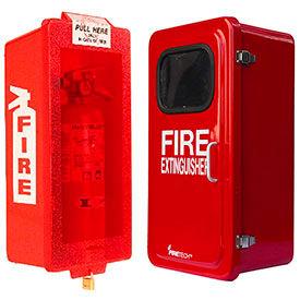 Plastic & Fiberglass Fire Extinguisher Cabinets