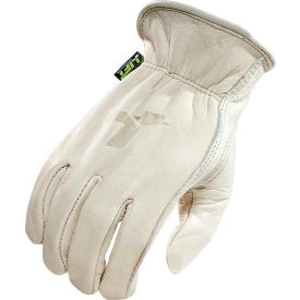 Lift Safety Lined Leather Gloves