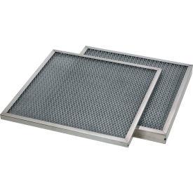 Global Industrial™ Stainless Steel Mesh MERV 4 Filtres à air