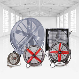 Portable Floor Fans by Triangle Engineering