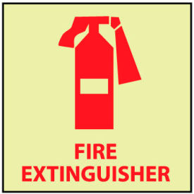 Glow - Fire Extinguisher Signs