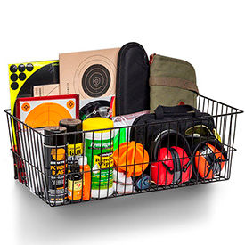 Rack'em™ Mount Anywhere Wire Baskets