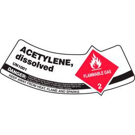 Gas Cylinder Shoulder Label