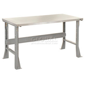 Global Industrial™ C-Channel Flared Leg Fixed Height Workbenches