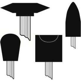 Mounted Points - 1/4 Shank Diameter