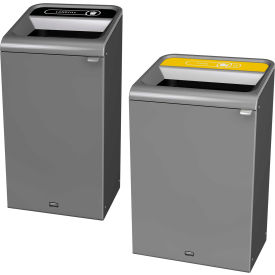Rubbermaid configurer poubelles décoratives