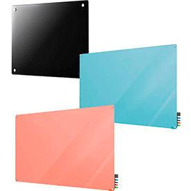 Panneaux de verre coloré effaçables à sec
