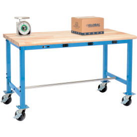 Global Industrial™ Heavy Duty Electric Mobile Packing Workbench