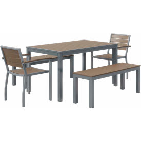 Table & Chair Sets with Bench Seating