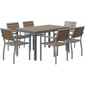 7 Piece Table and Chair Sets