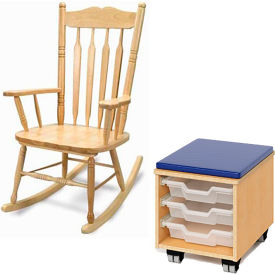 Teacher's Stools and Rocking Chairs