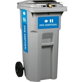 Busch Systems PPE Collection Cart