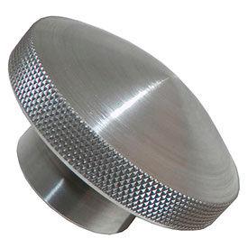 Aluminium au dôme-boutons