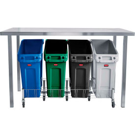 Rubbermaid Slim Jim Under-Counter Containers