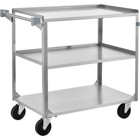 Stainless Steel 430 Utility Carts All-Welded