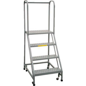 P.W. Platforms Rolling Ladder With Easy Angle