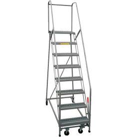 P.W. Platforms Steel Rolling Ladders
